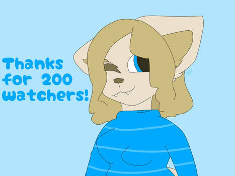 Thanks for 200+ Watchers!