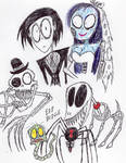 My Latest Corpse Bride Fanart by FloppsyProduction