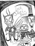 My Latest Drawing Of Lock Shock And Barrel