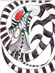 My Latest Drawing Of A Saturn Sandworm