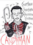 My Candyman Drawing by FloppsyProduction