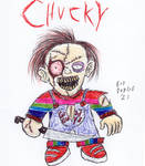 My Chucky Drawing by FloppsyProduction