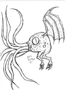 Random Lovecraftian Creature Thingy