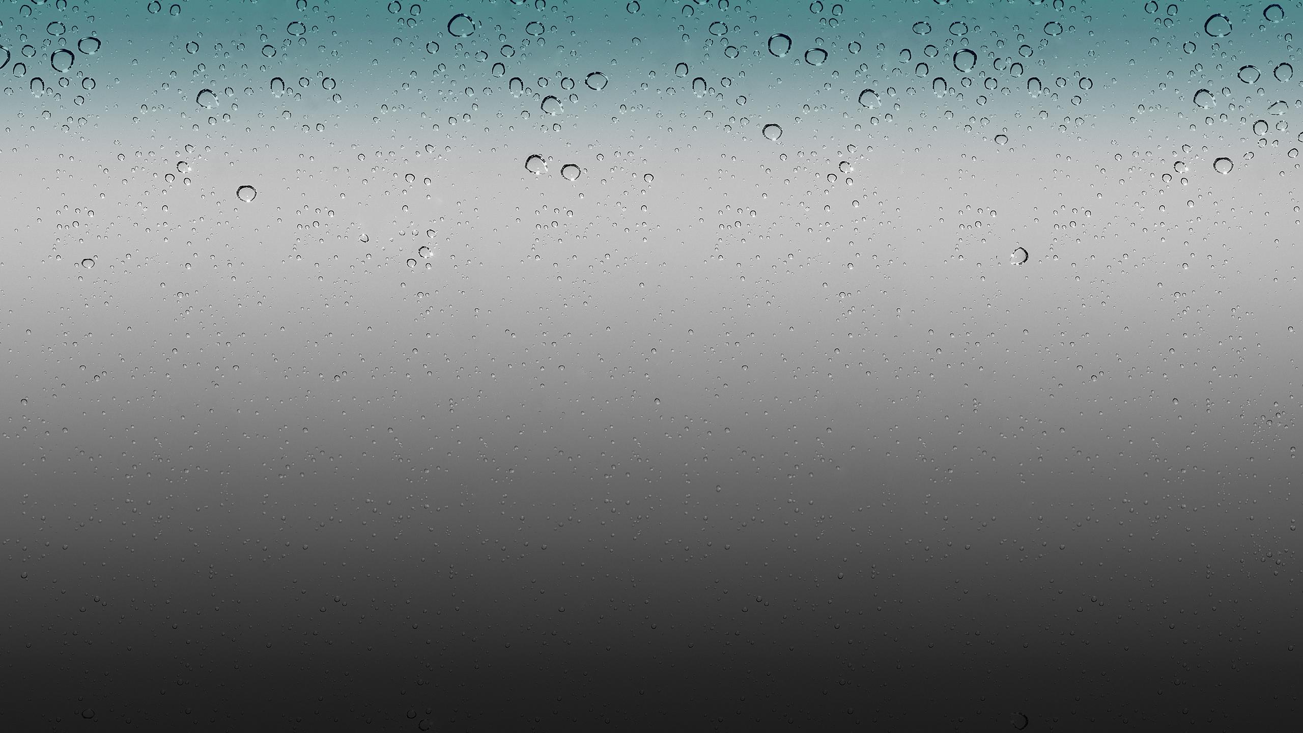 IOS Rain Drops Wallpaper HD By Airplane by 0BurN0