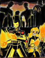 Interplanetary Onslaught : Burning Assaults
