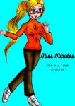 Miss Minutes   Gijinka by e31