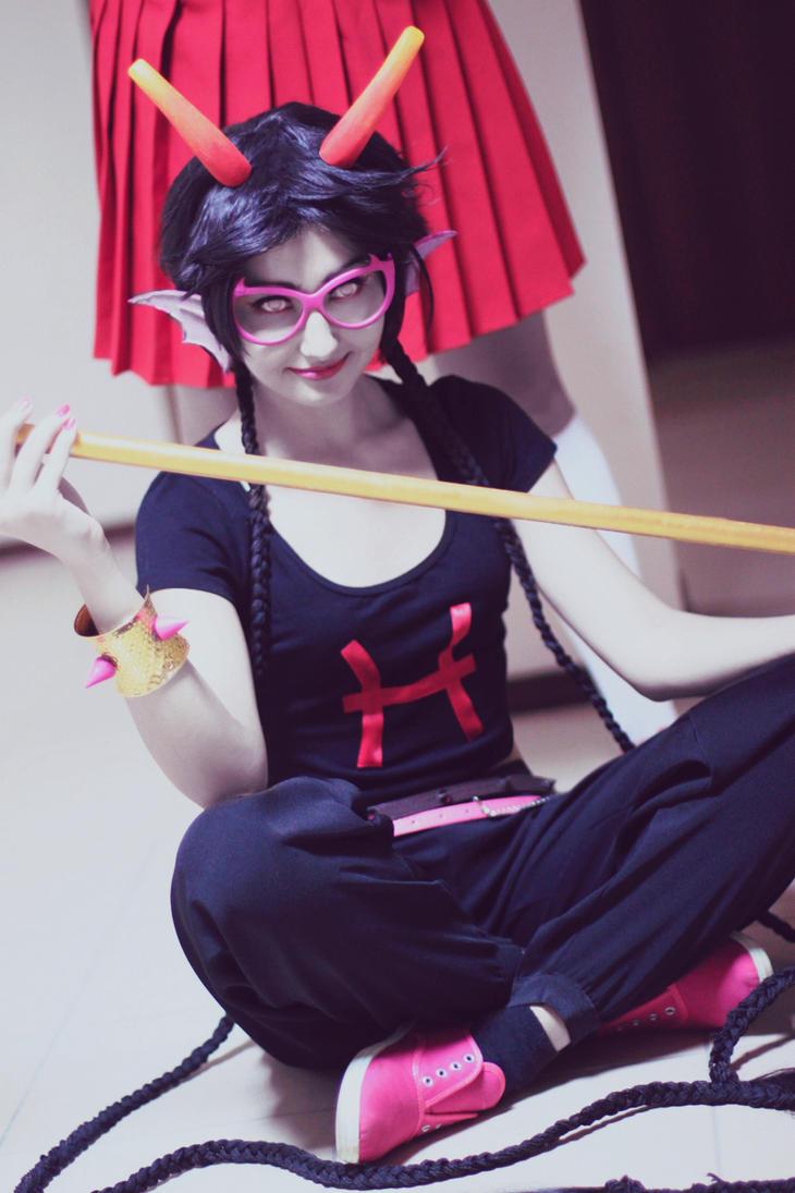 HOMESTUCK: Meenah cosplay by sweetHobgoblin