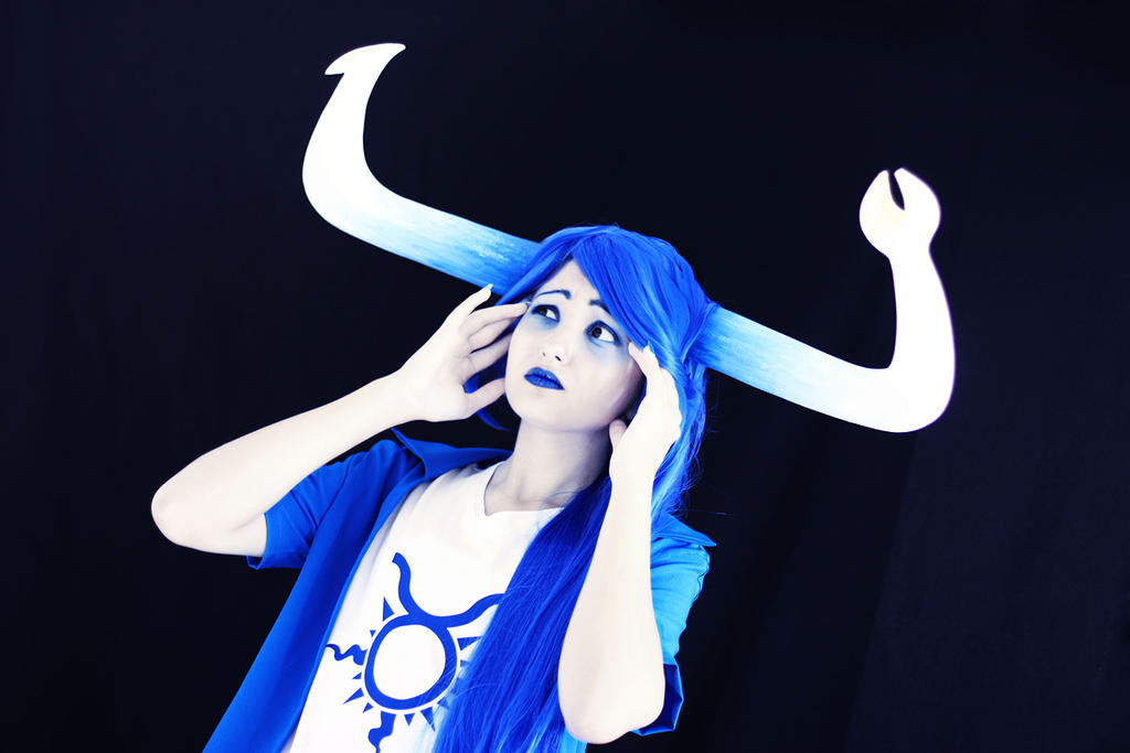 HOMESTUCK: Tavrisprite cosplay by sweetHobgoblin