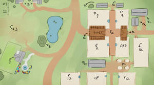Free Rein Stable's Map