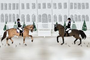 Fredensborg Pas De Deux Dressage Entry 2020 by ANIMALGIRL1869