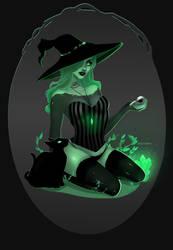 Garden Witch by nocturyn