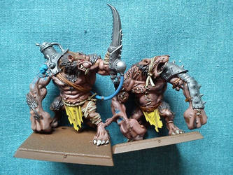 Rat Ogres by fromlusttodust