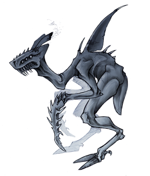 Land Shark Ghoul Thing
