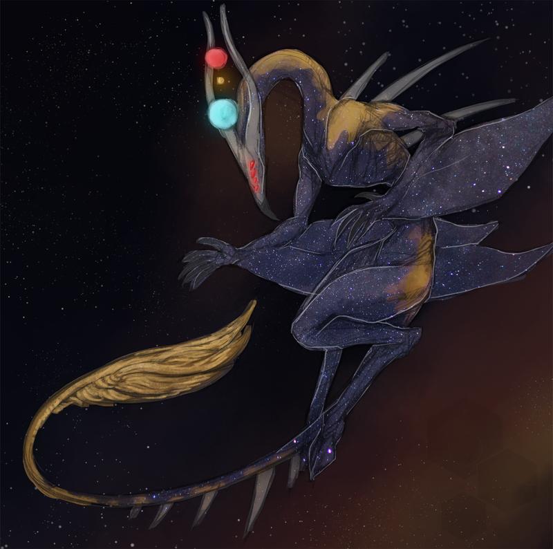[trade] Star Dragon by Delta-Hexagon