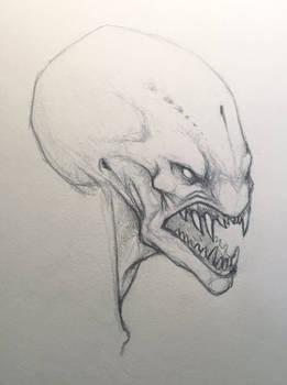 Snarly Alien Kinda Dude