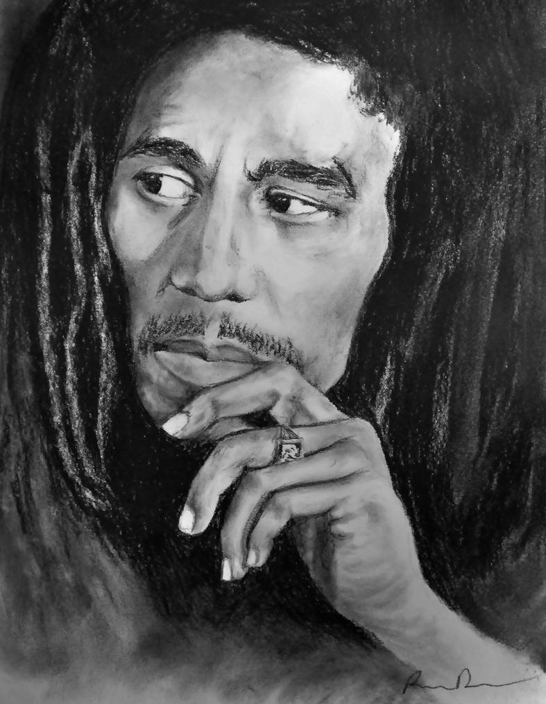 Bob marley legend charcoal by dryand09 on deviantart bob marley legend charcoal by dryand09 thecheapjerseys Image collections