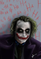 The Joker by alineumann