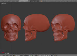 Blender Practice #3 Dynamic-topology Sculpting