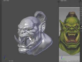 Blender Practice #181/3 Dynamic topology Sculpting