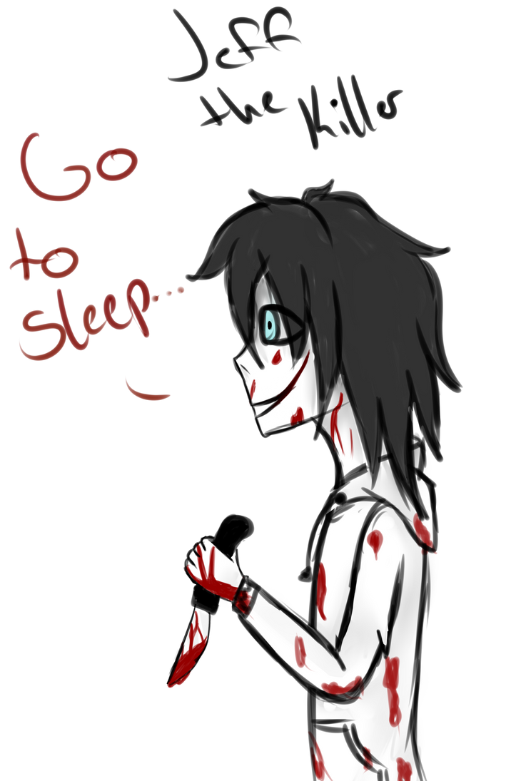 redraw jeff the killer - photo #2