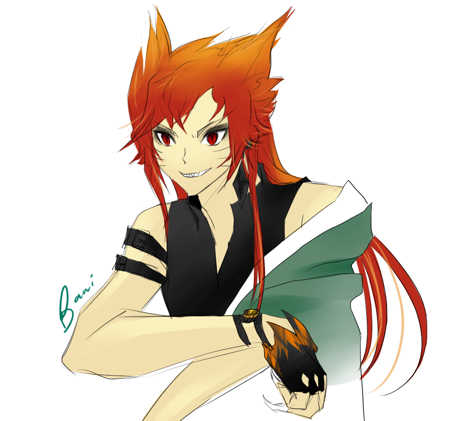 NARUTO - Kurama :: AU Human Form by Baniita on DeviantArt
