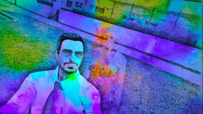 Hanging out with my invisible friend in GTA Online by John-Blue1998