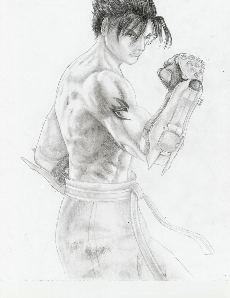 Jin Kazama by Tyteynium