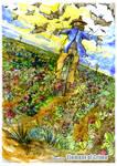 Scarecrow in Strawberryfield