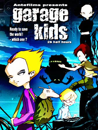 Code Lyoko Garage Kids by Aelita-Ichigo