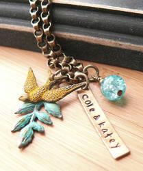 brass bird branch by yourcharmedlife