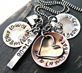 mixed metals and hearts