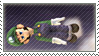 :.Stamp::LOL SIDEWAYS LUIGI.: by LordOfPastries