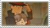 :.STAMP::Layton and Flora.: by LordOfPastries