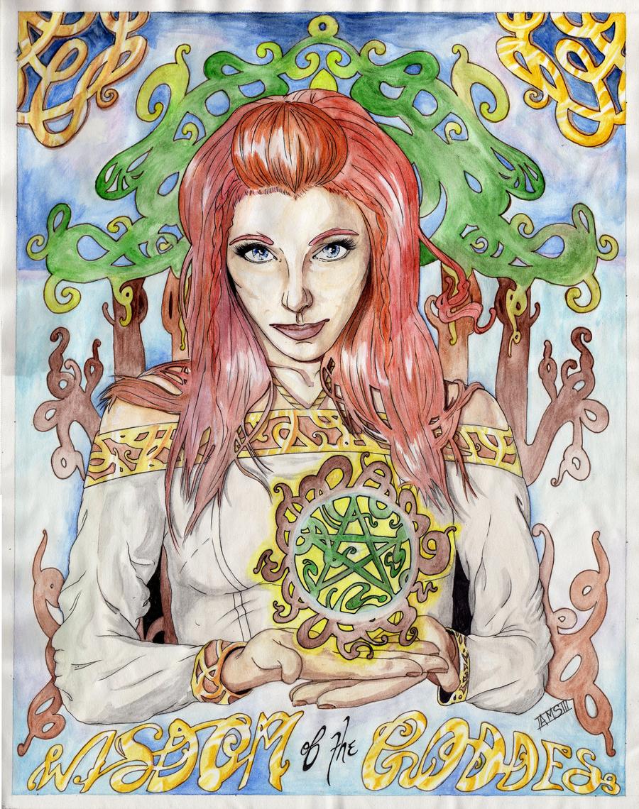 Wisdom of the Goddess :Final: by LuscyArt