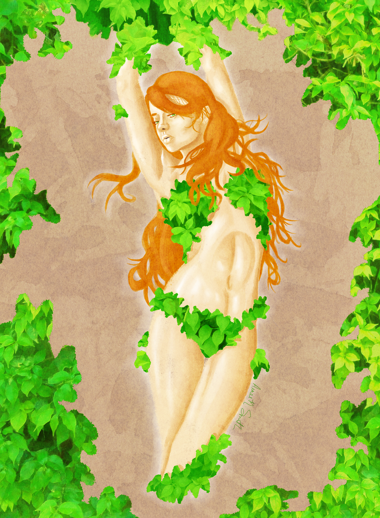 Poison Ivy II :Final: by LuscyArt