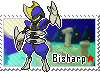 Shiny Bisharp Stamp
