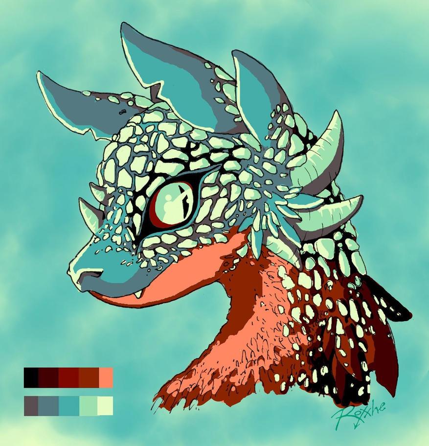 Venomous Dragon by Or003