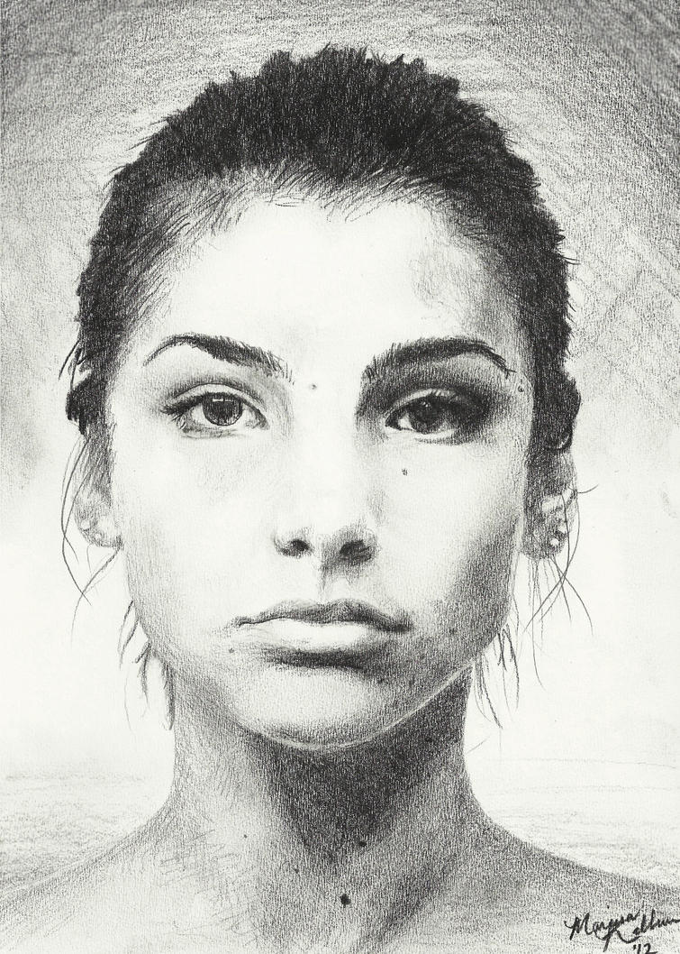 Self Portrait in Pencil by Leoplurodon16 on DeviantArt