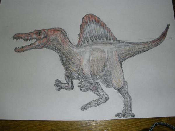 Jurassic Park Spinosaurus by TapirKing on DeviantArt