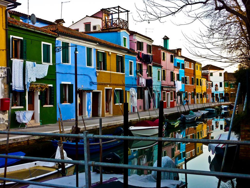 Home is like a rainbow by Babou-Shka