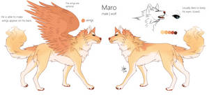 Maro - ref sheet