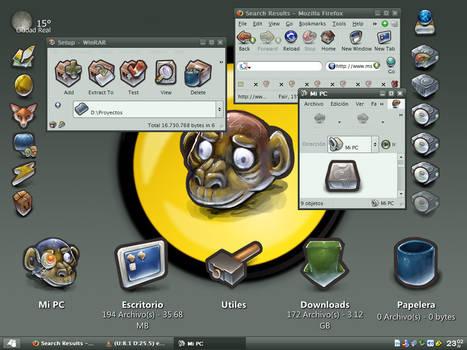 Gant-ized Desktop - March05