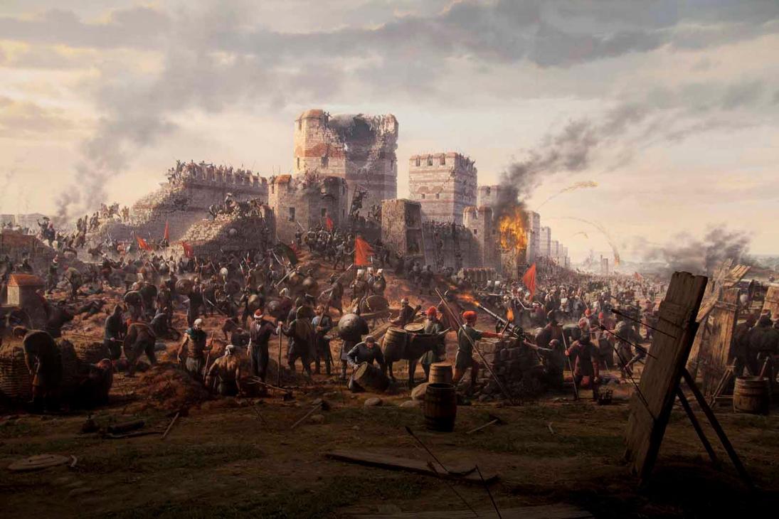 Panorama Istanbul 1453 2 by Gamsizm on DeviantArt