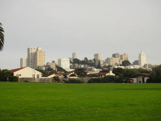 View of City from Fort Mason by mialuvx3