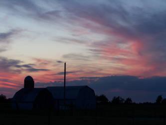 September Sunset I by MadGardens