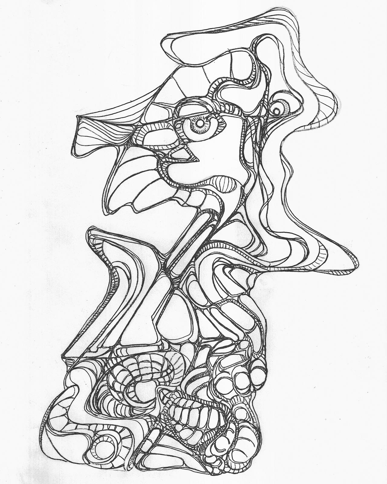 Self Portrait by MadGardens