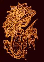 Sun Dragon by MadGardens