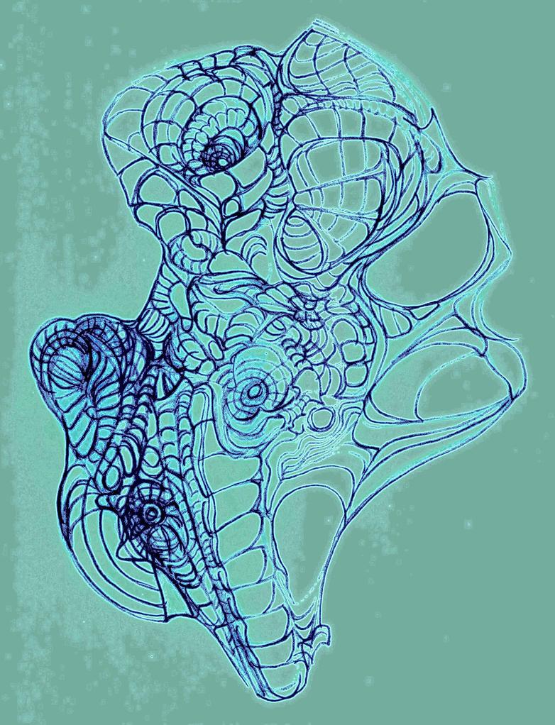 Vortexture, Blue by MadGardens