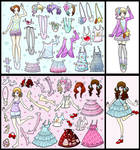 dress up dolls pt.1