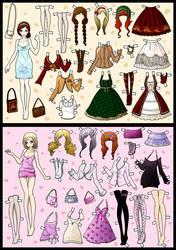 dress up dolls pt.2